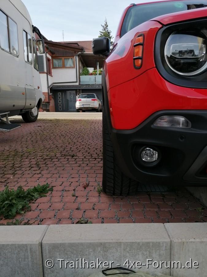 Suchbild: wo ist die Radhausverbreiterung vorne?